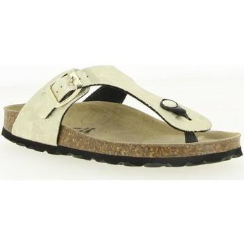 Chaussures Femme Tongs La Maison De L'espadrille 3521 OR
