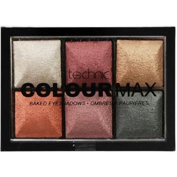Beauté Femme Fards à paupières & bases Technic Palette Colour Max 6 Fards à paupières Treasure Ches... Gris