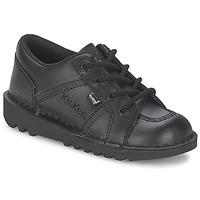 Chaussures Enfant Baskets basses Kickers KICK LOTOE Noir