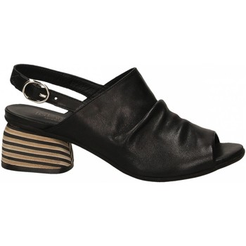 Chaussures Femme Mules Mat:20 WEST nero
