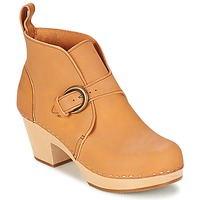 Chaussures Femme Bottines Swedish hasbeens PETRA Naturel