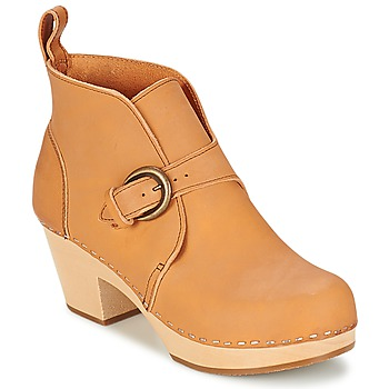 Bottines / Boots Swedish hasbeens PETRA Naturel 350x350