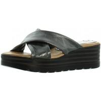Chaussures Femme Mules Marila Compensés  ref_46327 Noir Multi noir