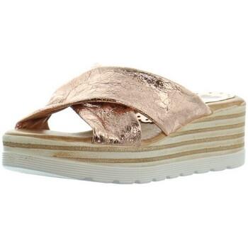 Chaussures Femme Mules Marila Sandales compensées  ref_46326 Multi beige beige