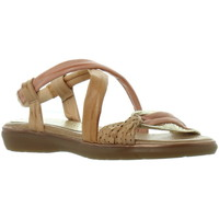 Chaussures Femme Sandales et Nu-pieds Marila Sandales plates  ref_46318 multi beige beige
