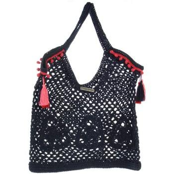 Sacs Femme Cabas / Sacs shopping Les Tropéziennes par M Belarbi Sac porté épaule Les Tropeziennes ref_trop46295 Bl bleu
