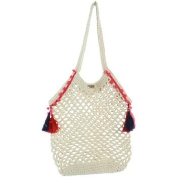 Sacs Femme Cabas / Sacs shopping Les Tropéziennes par M Belarbi Sac porté épaule Les Tropeziennes ref_trop46296 Be beige