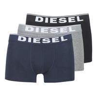Sous-vêtements Homme Boxers Diesel DAMIEN Gris / Marine / Noir