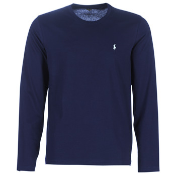 Vêtements Homme T-shirts manches longues Ralph Lauren L/S CREW-CREW-SLEEP TOP Marine