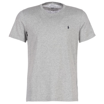 Vêtements Homme T-shirts manches courtes Ralph Lauren S/S CREW-CREW-SLEEP TOP Gris
