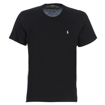 Vêtements Homme T-shirts manches courtes Polo Ralph Lauren S/S CREW-CREW-SLEEP TOP Noir