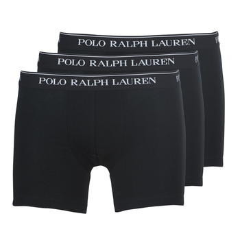 Sous-vêtements Homme Boxers Polo Ralph Lauren BOXER BRIEF-3 PACK Noir