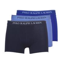 Sous-vêtements Homme Boxers Polo Ralph Lauren CLASSIC-3 PACK-TRUNK Bleu