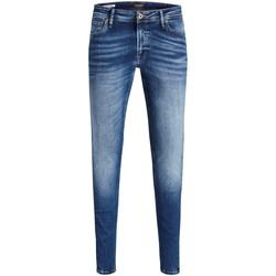 Vêtements Homme Jeans slim Jack & Jones 12144207 bleu