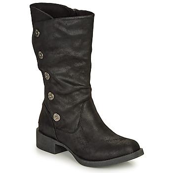 Chaussures Femme Bottes ville Blowfish Malibu KEEDA Noir