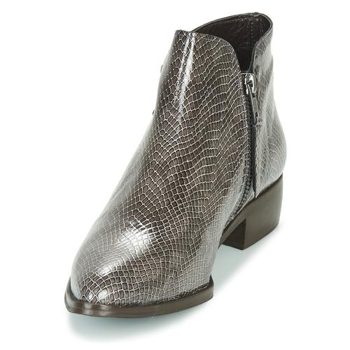 Ippon Sting Gris Vernis Hill Boots Femme Vintage bf7yvY6g