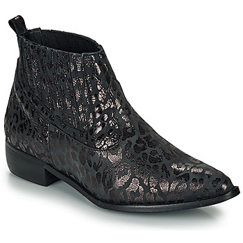 Chaussures Femme Boots Ippon Vintage GILL ARTY Noir