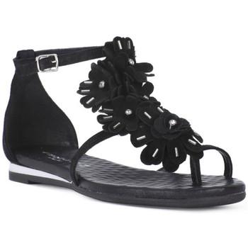 Chaussures Femme Sandales et Nu-pieds Sono Italiana CROSTA NERO Nero