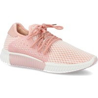Chaussures Femme Baskets basses Suncolor AA611 Rosa