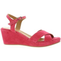 Chaussures Femme Sandales et Nu-pieds Exit Nu pieds cuir velours  framboise Framboise