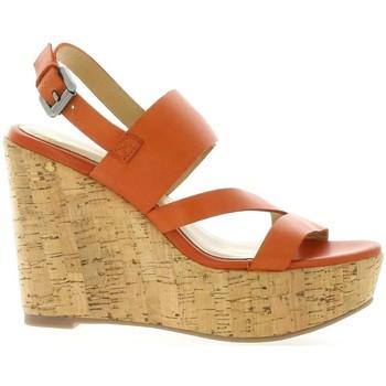 Chaussures Femme Sandales et Nu-pieds Exit Nu pieds cuir Orange