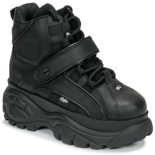 Chaussures Femme Baskets montantes Buffalo CLASSICS NOS Noir
