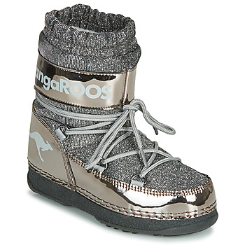 Chaussures Femme Bottes de neige Kangaroos K-MOON Gris