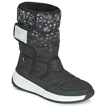 Chaussures Femme Bottes de neige Kangaroos K-FLUFF RTX Noir / Gris