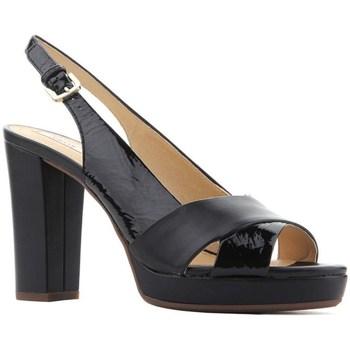 Chaussures Femme Sandales et Nu-pieds Geox D Mauvelle Noir