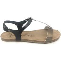 Chaussures Femme Sandales et Nu-pieds Amoa sandales SANARY Noir/Aciero Noir