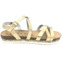 Chaussures Femme Sandales et Nu-pieds Amoa sandales MIMOSAS Or Doré
