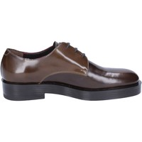 Chaussures Femme Derbies Triver Flight élégantes cuir brillant marron