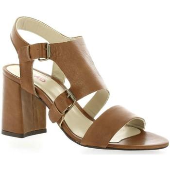 Chaussures Femme Sandales et Nu-pieds Pao Nu pieds cuir Cognac
