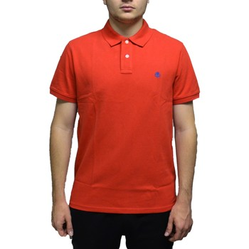 Vêtements Homme Polos manches courtes Timberland MILLERS RIVER ROSSA Rouge