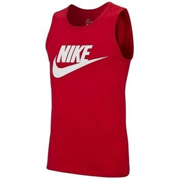 Vêtements Homme Débardeurs / T-shirts sans manche Nike DEBARDEUR  /ROUGE Rouge