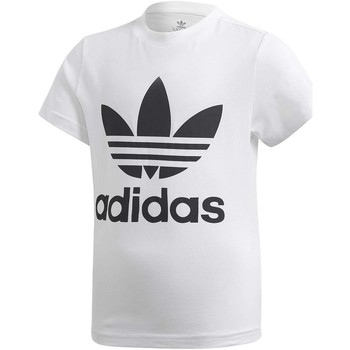 Vêtements Garçon Ensembles de survêtement adidas Originals SHORT TEE SET COMPLETINO BIANCO blanc