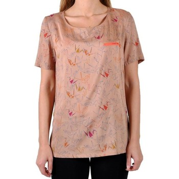 Vêtements Femme T-shirts manches courtes Good Look T-Shirt Marron