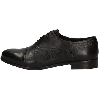 Chaussures Homme Richelieu Veni T0001 Oxford Homme NOIR NOIR