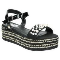Chaussures Femme Sandales et Nu-pieds Isteria 8052 Noir