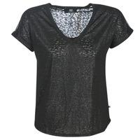Vêtements Femme T-shirts manches courtes Le Temps des Cerises OKINAWA Noir