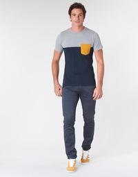 Vêtements Homme Chinos / Carrots Le Temps des Cerises JAS3 Marine