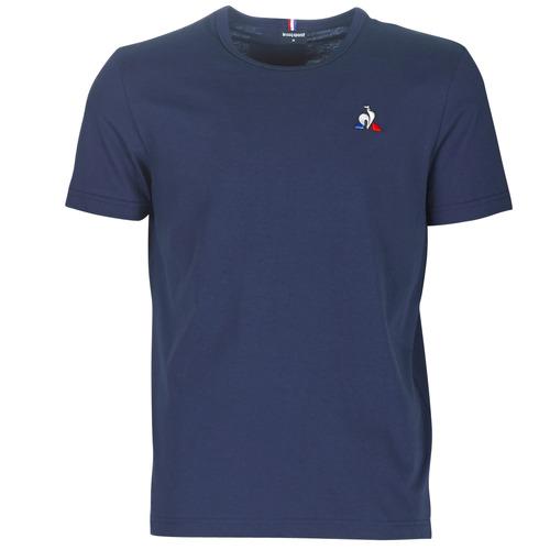 Vêtements Homme T-shirts manches courtes Le Coq Sportif ESS TEE SS N°2 M Bleu marine