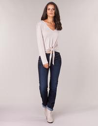 Vêtements Femme Jeans droit Freeman T.Porter CATHYA SDM Bleu brut