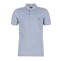 Vêtements Homme Polos manches courtes Selected SLHTWIST Marine