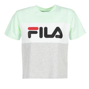 Vêtements Femme T-shirts manches courtes Fila ALLISON TEE Bleu / Gris