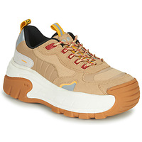 Chaussures Femme Baskets basses Coolway REX Camel / Blanc
