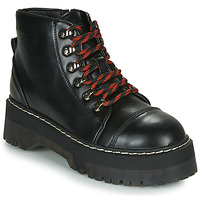 Chaussures Femme Boots Coolway ABLIS Noir / Rouge