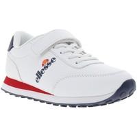 Chaussures Garçon Baskets basses Ellesse el916401/kid blanc