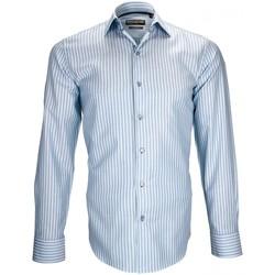 Vêtements Homme Chemises manches longues Emporio Balzani chemise sport turchese turquoise Turquoise