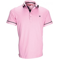 Vêtements Homme Polos manches courtes Andrew Mc Allister polo mode erwin rose Rose